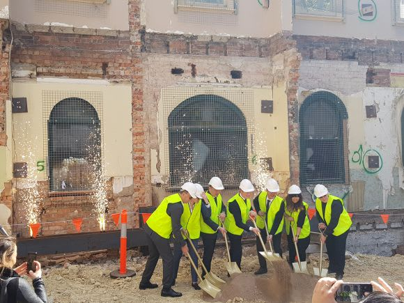 Beulah and Multiplex break ground at Paragon