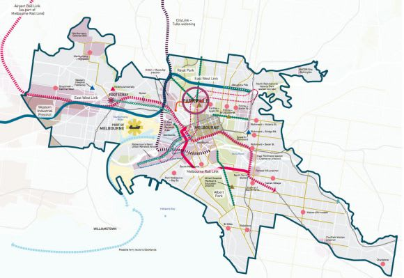 How much urbanism will central Melbourne need to build by 2031?