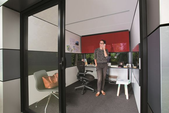 Harwyn's designer pods for creation and recreation
