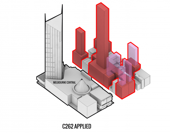 A City of Melbourne amendment C262 case study