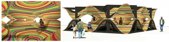 NGV Pavilion 2016 entry: John Kachami