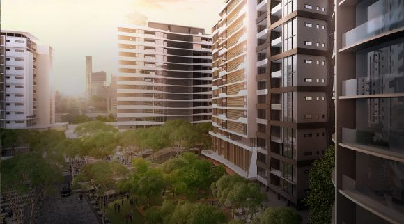 Parramatta's Altitude Towers takes top gong at UTA's Development Excellence Awards