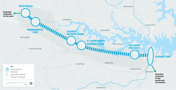 NSW government announces Westmead will be a stop on the new Sydney Metro West