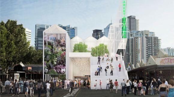 Breathe Architecture conceive QVM's new market facility