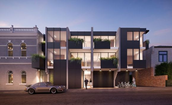 A model whereby apartments and hotels coexist