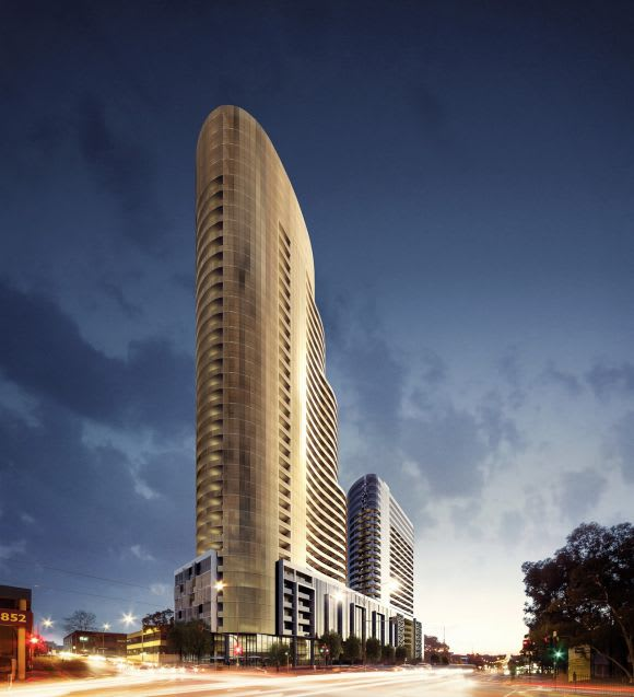 Whitehorse Towers, Box Hill's largest development approved