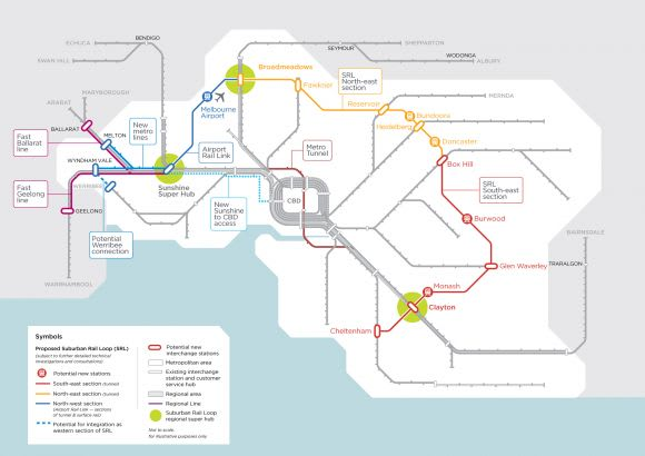 Andrews unveils Western Rail Plan as Federal Labor commit to Suburban Rail Loop