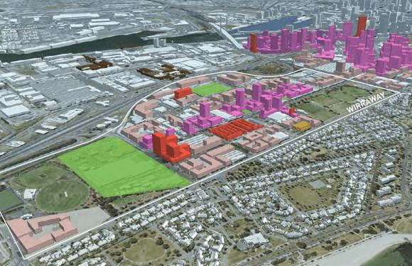 Fishermans Bend's Urban Design Strategy - visuals
