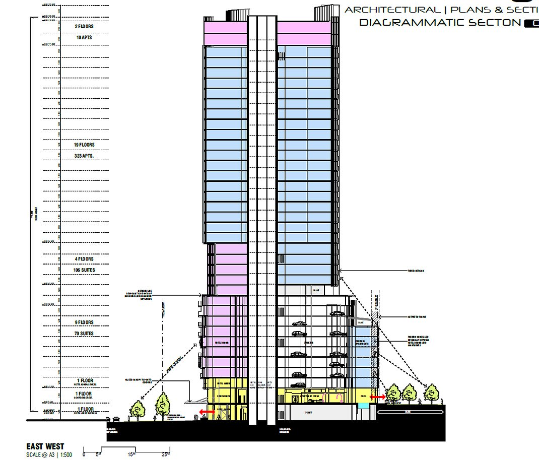 DOCKLANDS | The Altus | 238 Harbour Esplanade |115m |37L | Mixed Use