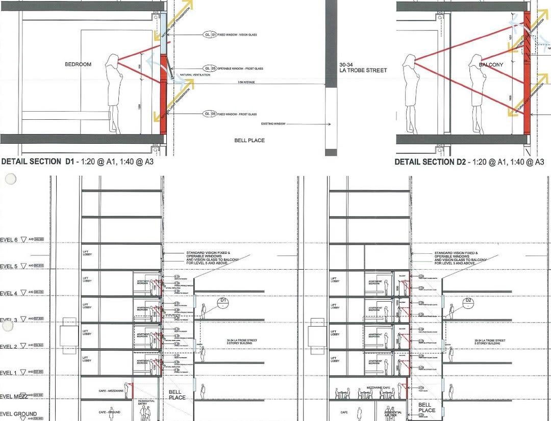 CBD | 36-40 La Trobe Street | Trillium Apartments | 39L | 115m | Residential