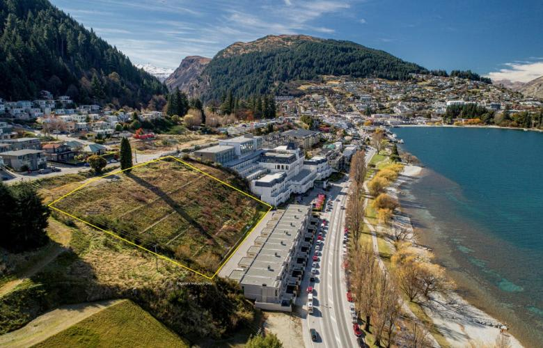 Commercial development site in Queenstown for sale by Ray White Queenstown