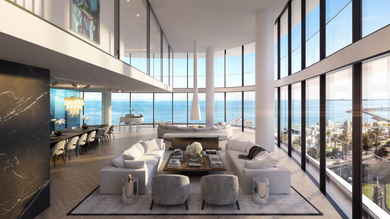 Luxury apartments to replace St Kilda's Novotel