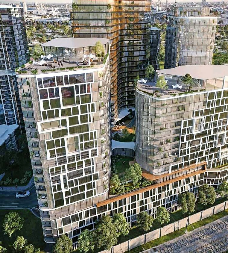 High-rise tower plan for industrial Footscray site