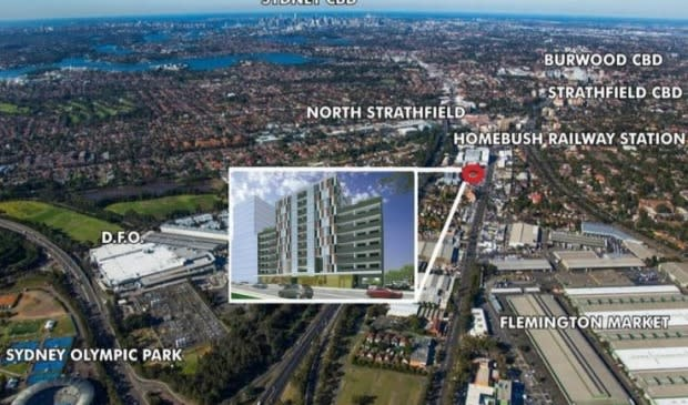 Third time lucky for Homebush residential site?