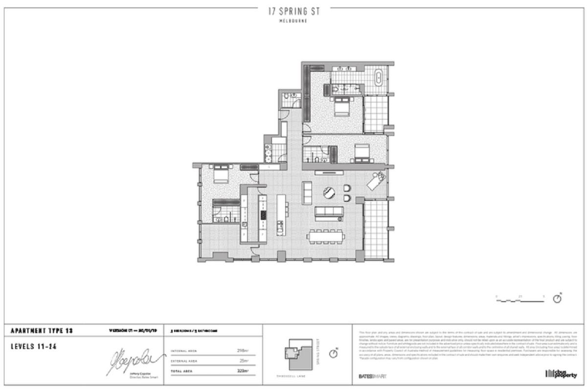 17 Spring Street floor plans