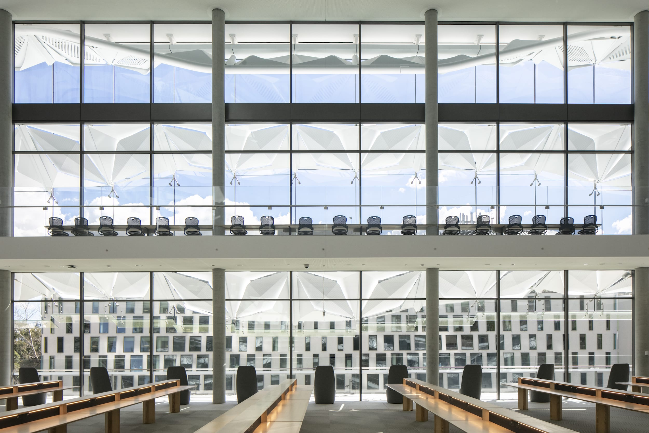 Innovative new sunshade technology provides solution to harsh light and heat