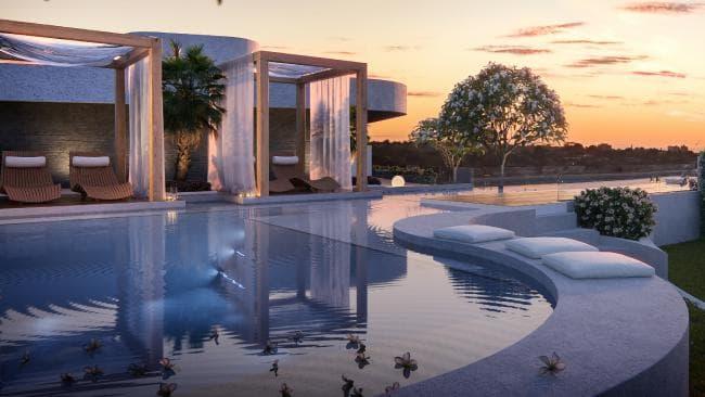 'Sky pool' to crown development