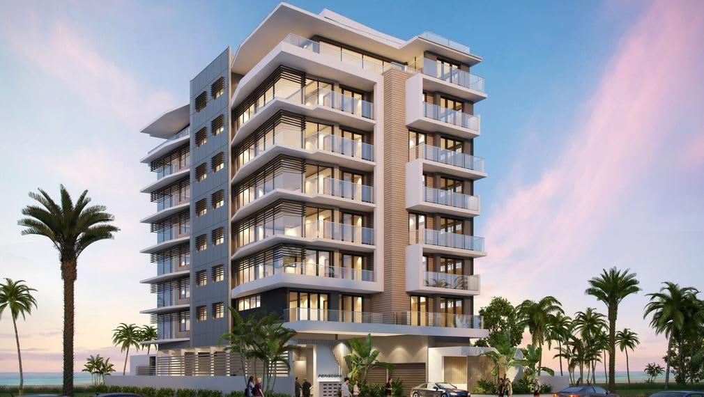 Periscope Palm Beach: Beachfront apartments on the Gold Coast