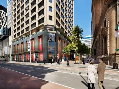 Sydney CBD retail redevelopment approved