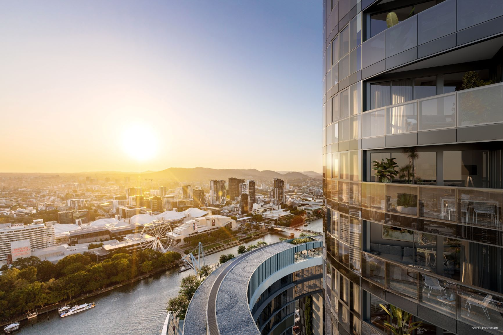 Brisbane apartment of the week: Queens Wharf Residences, Brisbane CBD