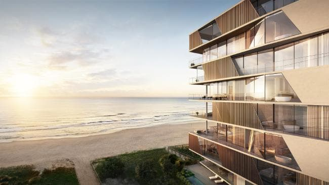 Palm Beach beachfront development almost sold out