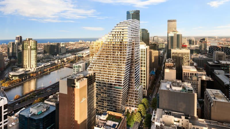 Mixed-use growth: JLL to manage Cbus Property's 447 Collins St Pantscraper