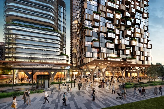 PTW designs transit-oriented mixed-use development for Sydney's St Leonards