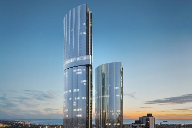 Cox Architecture's Melbourne Square towers unveiled