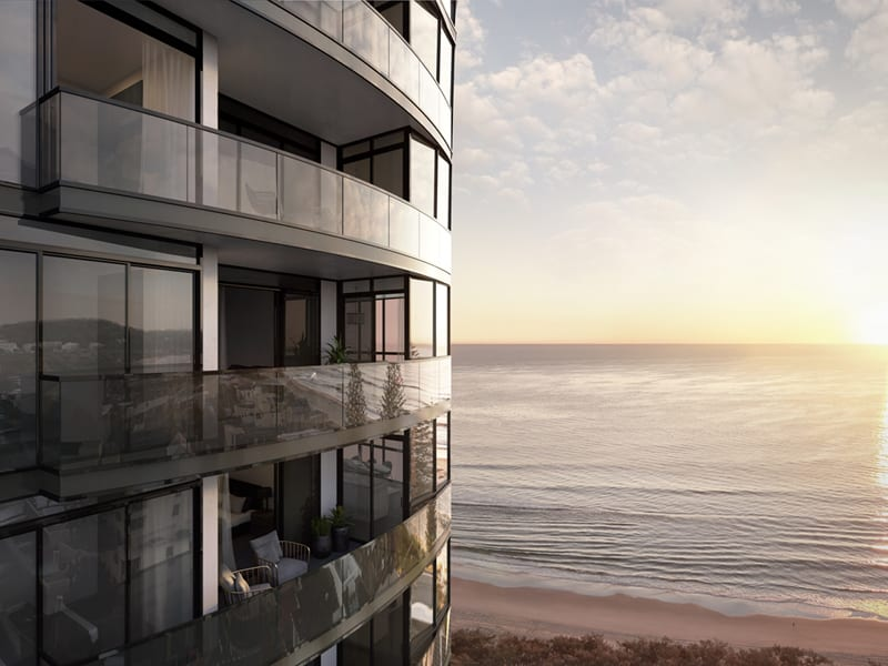 Elysian Broadbeach: Beachside high-tech luxury apartments