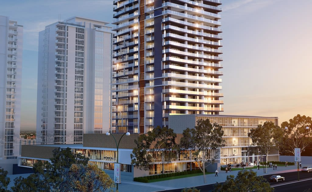 Perth's tallest residential tower shows city's sophistication, says Finbar
