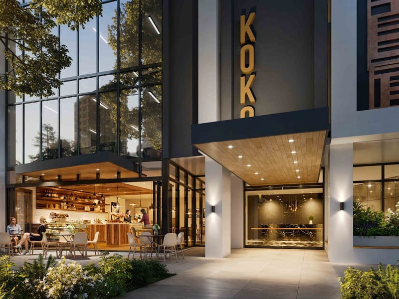 Koko Broadbeach: Cosmopolitan living in Broadbeach