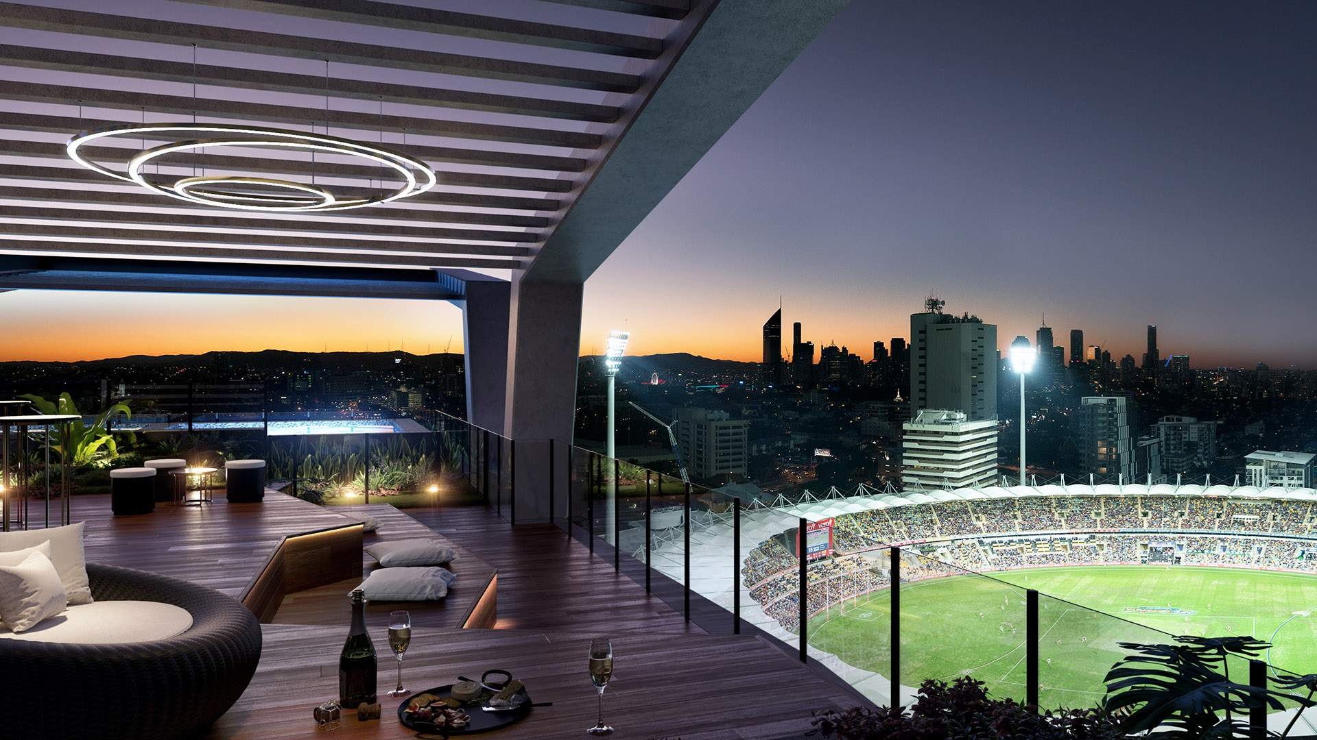 Australia's First Ever Rooftop Skystand Is Coming to Brisbane