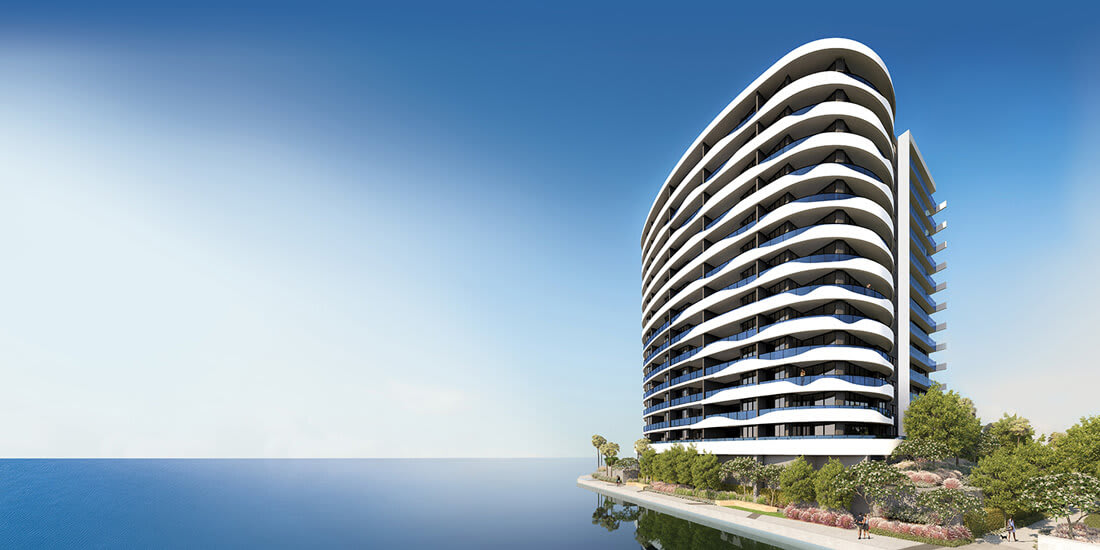 Construction on WaterPoint Residences reaches halfway