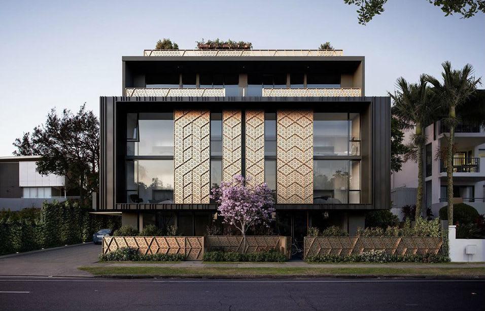 Zahra apartments: Boutique luxury apartments in New Farm