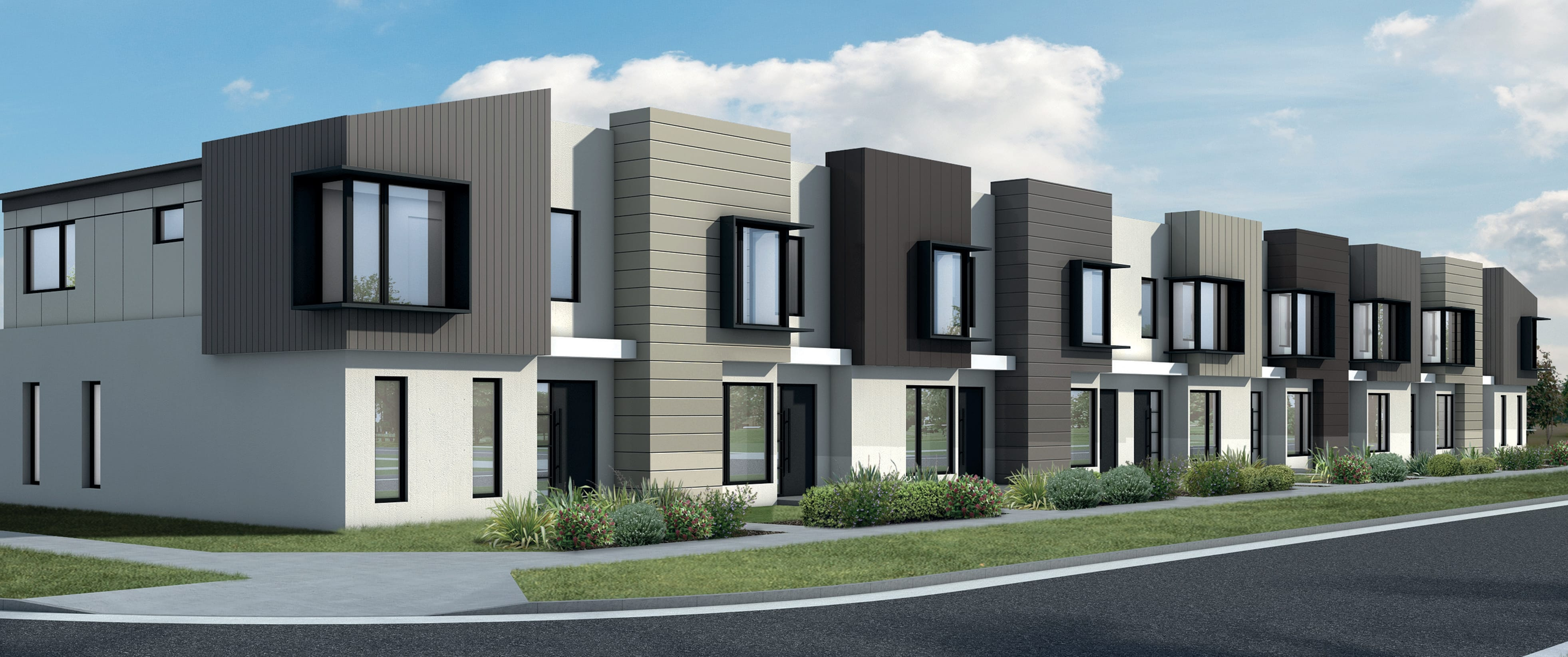 The new neighbourhood of Allanvale, Cranbourne East welcomes meticulously designed townhomes on offer.