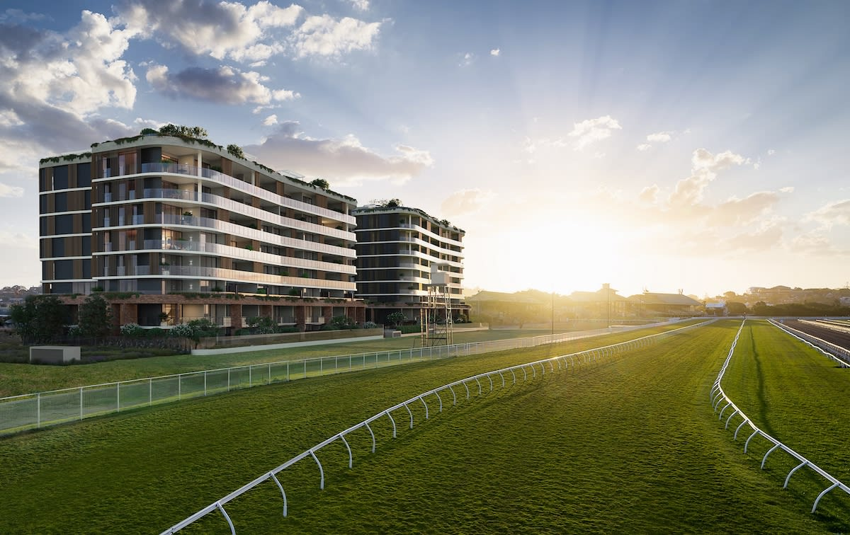 Mirvac fast-tracks Eagle Farm Racecourse community following sell-out of Tulloch House, Ascot apartments
