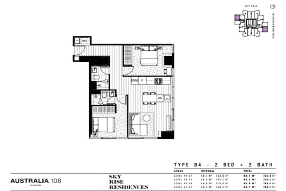 Australia 108 floor plans
