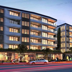 Works begin on $65 million luxury apartments, shops