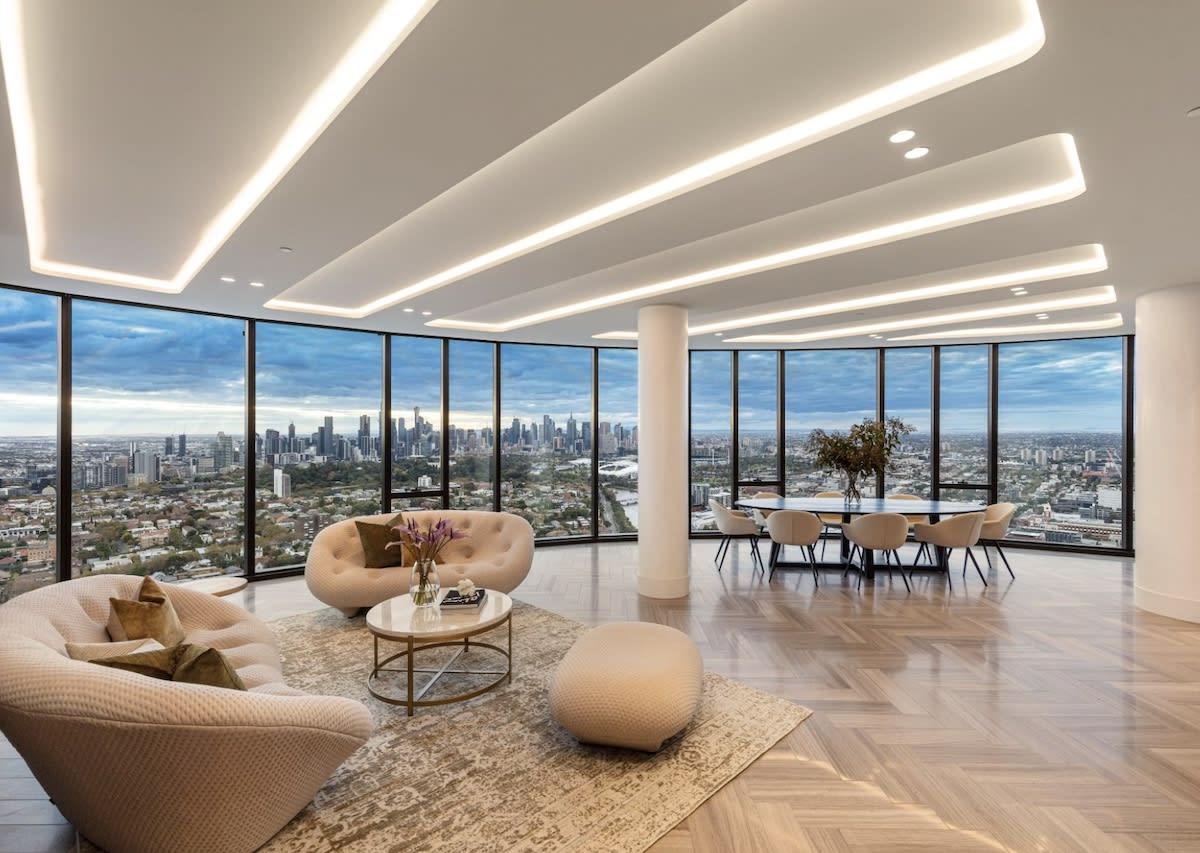 Luxury apartment listings on Chapel Street, South Yarra