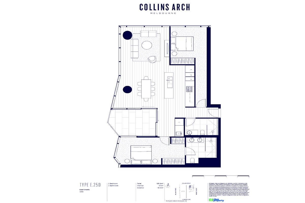 Collins Arch floor plans