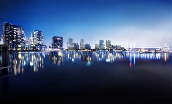 Lendlease's 'Collins Wharf' development at Docklands approved by Victorian Government
