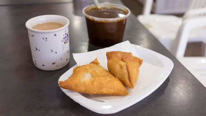 Love samosas? Thank this 48-year-old Indian grocer