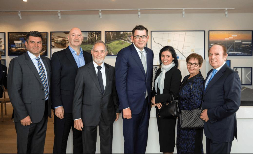 Construction officially begins at Saraceno Group's $1 billion M-City development