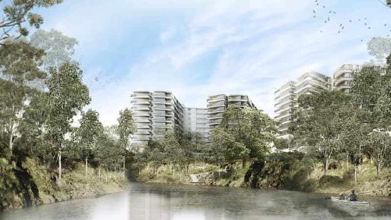 Hundreds more apartments planned for banks of Yarra in Abbotsford