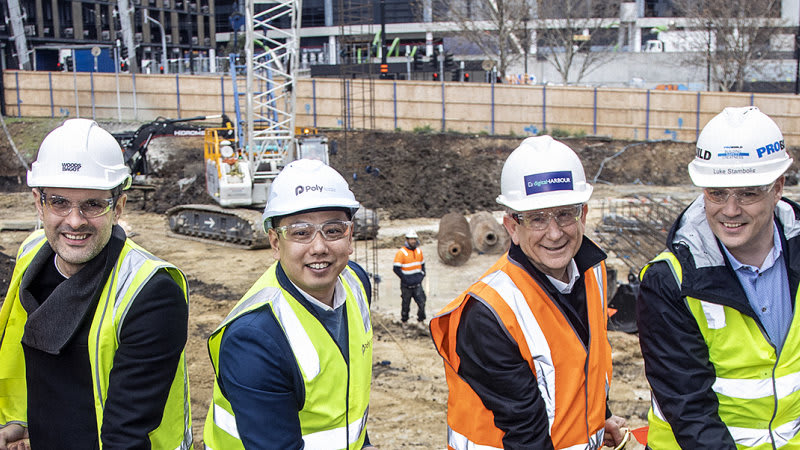 Confident developers kick off $700m of new Melbourne projects