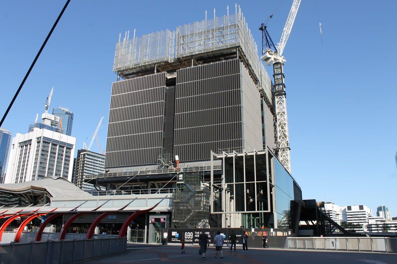 Grimshaw office tour > 699 Bourke Street, Docklands