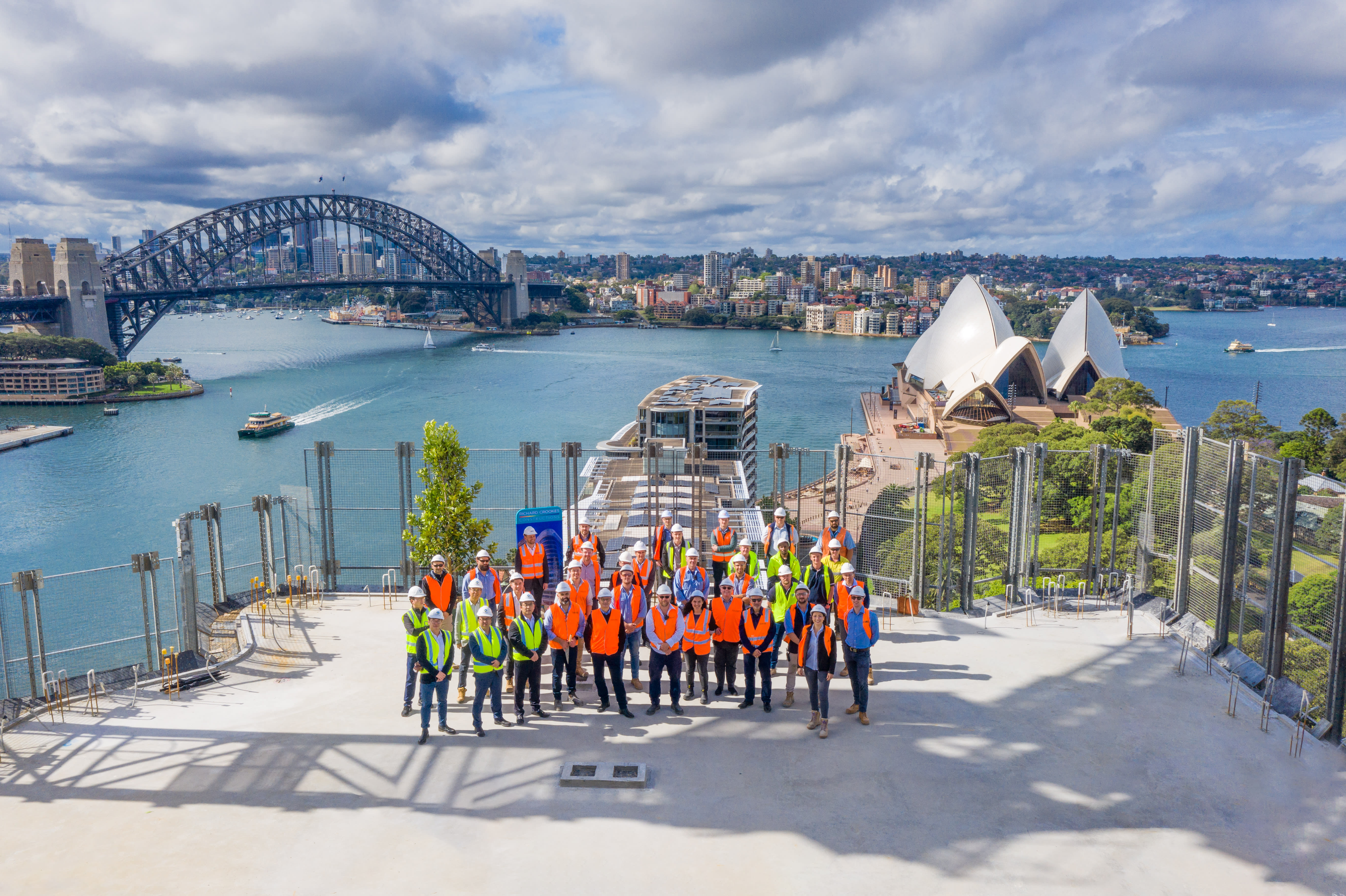 Opera Residences: Sydney's $600m residential building that sold out in 2 hours has now topped out