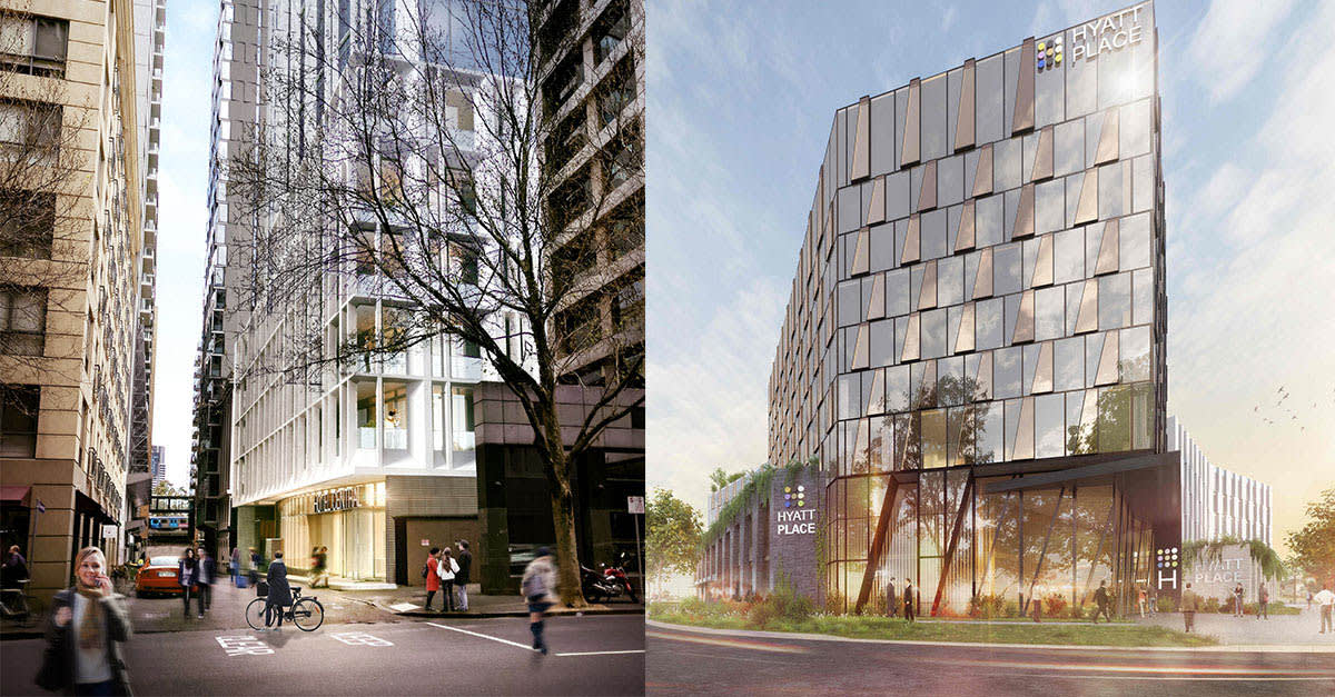 Hyatt Announces Plans For Melbourne