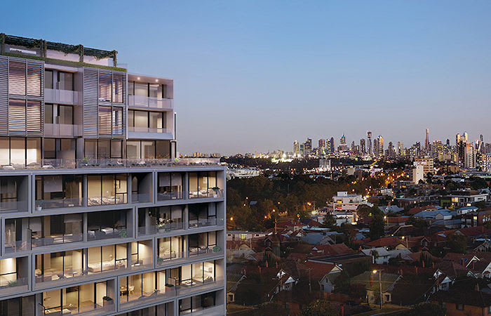 Essendon Station fast becoming a magnet for apartment developments