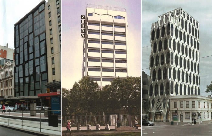 Three Melbourne projects indicative of the times